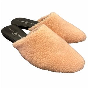 Chinese Laundry Sherpa Mules *New In Box*